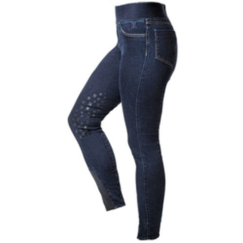 Denim Blue - Front - Mark Todd Unisex Jeggings