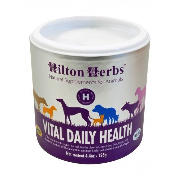 Front - Hilton Herbs Canine Vital Daily Health Supplement