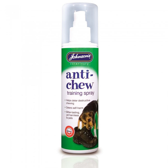 Front - Johnsons Veterinary Anti-Chew Liquid Spray