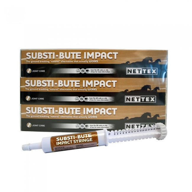 Front - Nettex Substi-Bute Syringe  Liquid Supplement For Horses (Pack Of 3)
