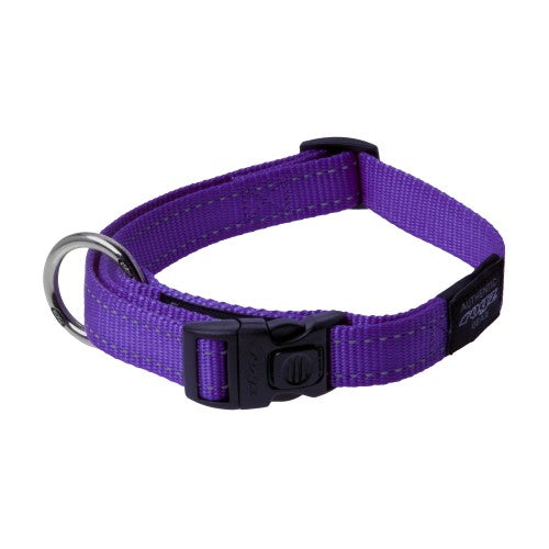 Front - Rogz Utility Side Release Adjustable Dog Collar