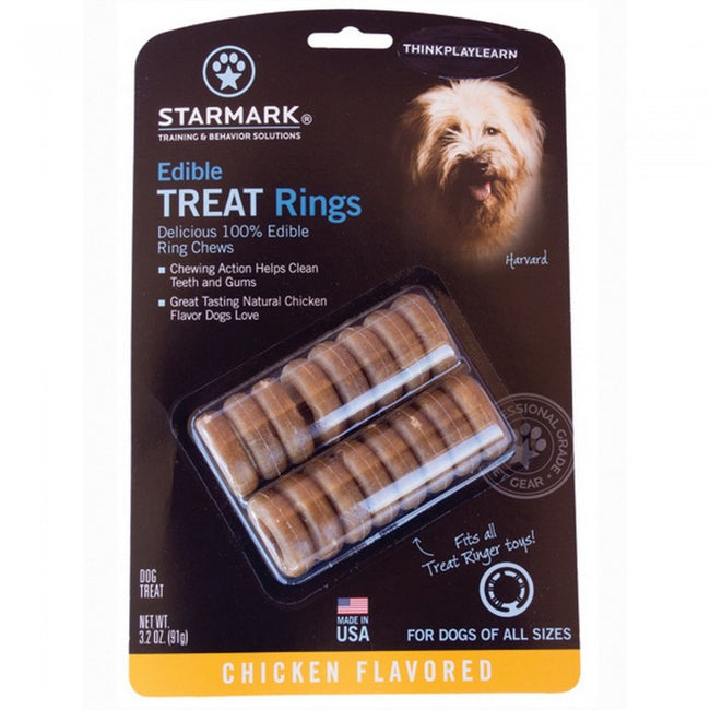 Front - Starmark Treat Dispensing Edible Treat Rings