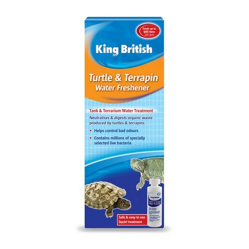 Front - Beaphar King British Aquarium Turtle Terrpain Liquid Fresh Water