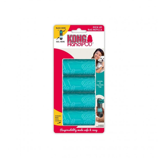 Front - KONG Handipod Large Pick Up Bag Refills