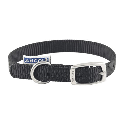 Front - Ancol Pet Products Heritage Buckle Fasten Weatherproof Dog Collar
