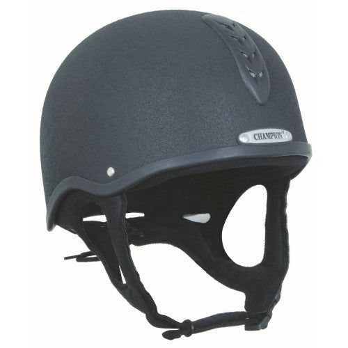 Front - Champion Junior X-air Plus Riding Helmet