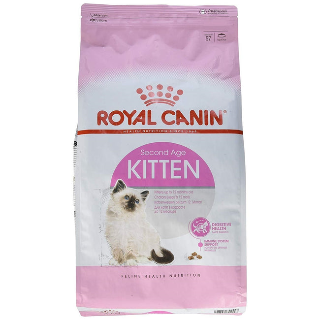 May Vary - Front - Royal Canin Kitten 2nd Age Kitten Food