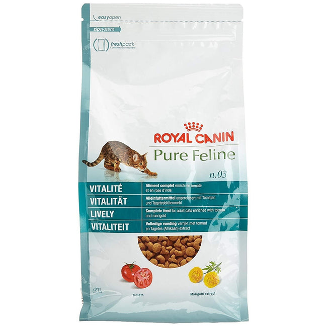 May Vary - Front - Royal Canin Pure Feline No.3 Lively Cat Food