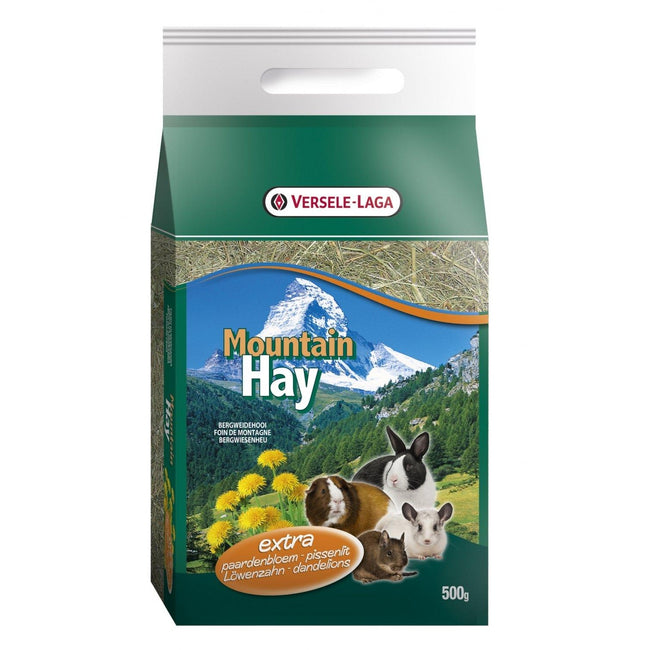 May Vary - Back - Versele Laga Mountain Hay With Dandelion