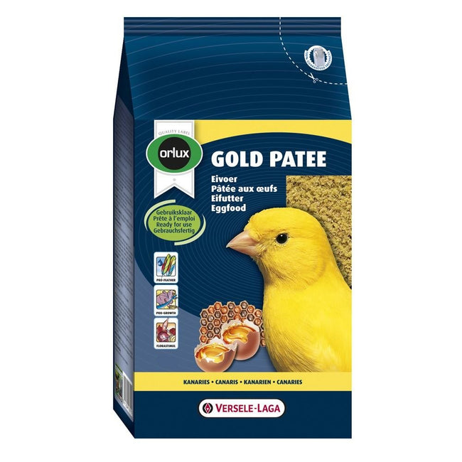 May Vary - Back - Versele Laga Orlux Canaries Gold Patee