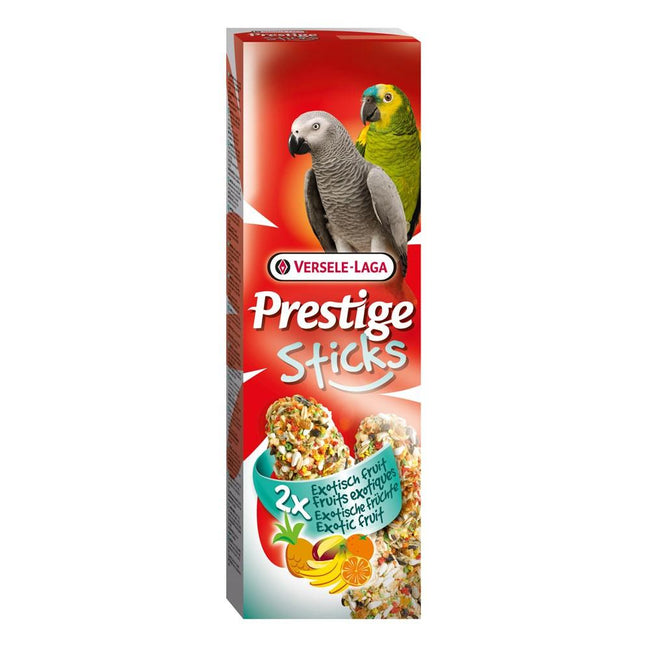 Fruit - Front - Versele Laga Prestige Parrot Sticks (8 x Pack Of 2)