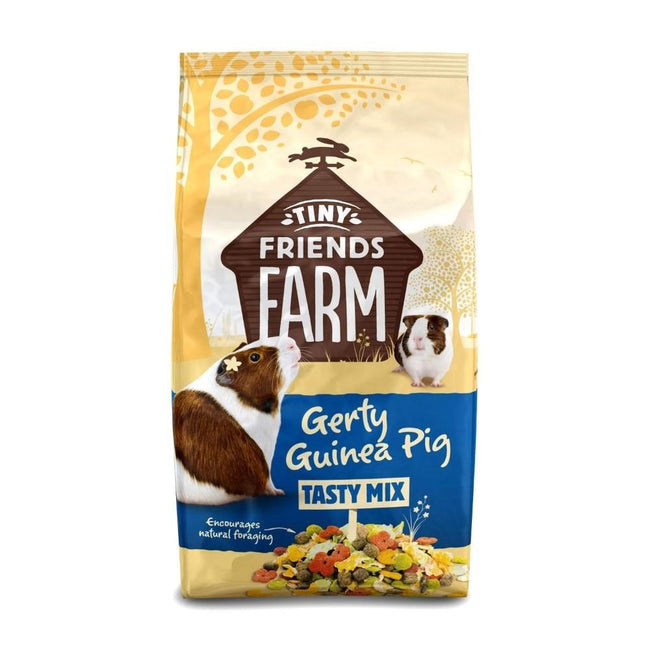 Tasty Mix - Front - Tiny Friends Farm Gerty Guinea Pig Mix