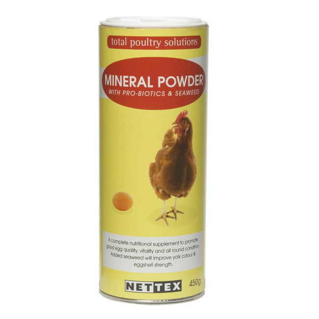 May Vary - Front - Net-Tex Poultry Mineral Boost Supplement