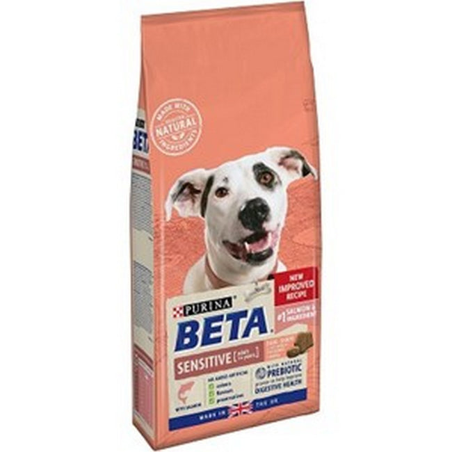 May Vary - Front - Purina Beta Sensitive Adult Dog Food With Salmon And Rice