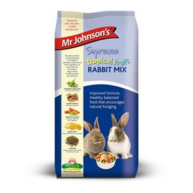 May Vary - Front - Mr Johnsons Supreme Rabbit Tropical Fruit Mix