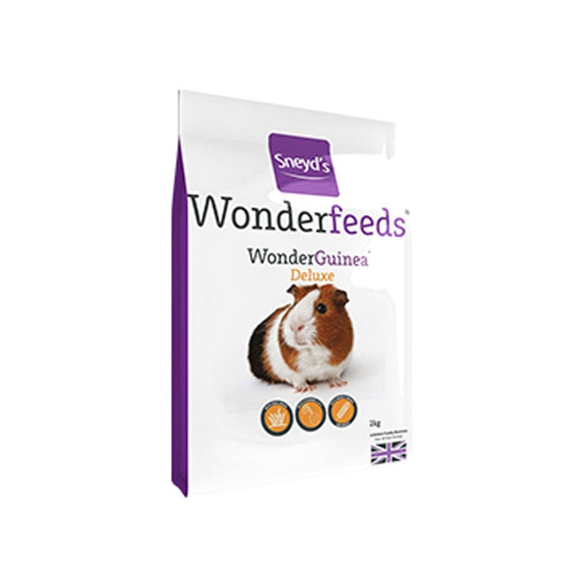 May Vary - Front - Sneyds Wonder Deluxe Guinea Pig Food