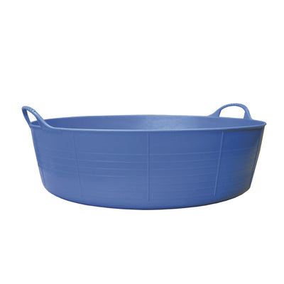 Blue - Front - Red Gorilla Shallow Plastic Tub