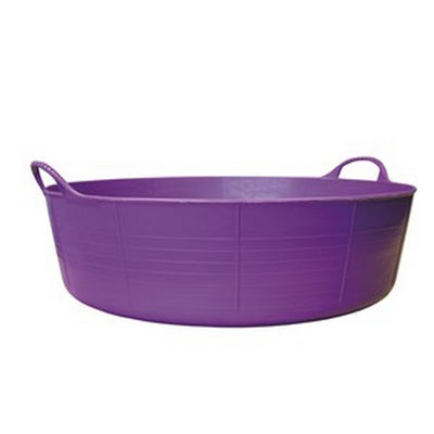 Purple - Front - Red Gorilla Shallow Plastic Tub