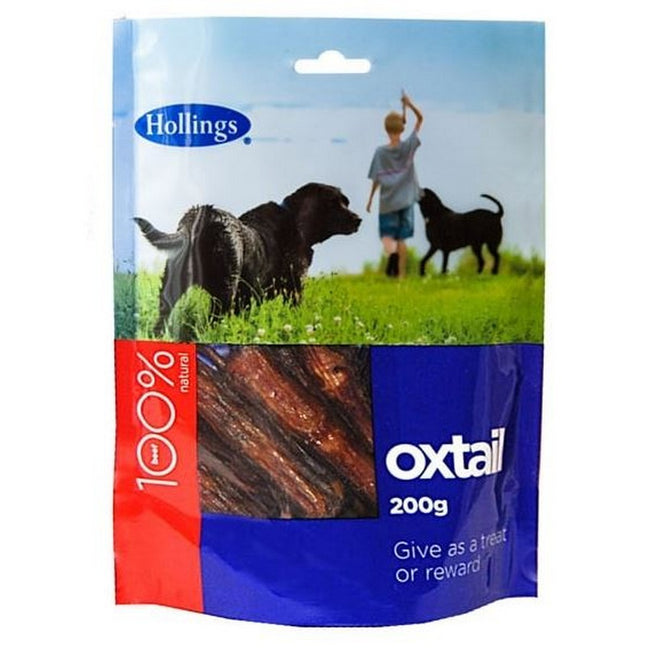Oxtail - Front - Hollings Oxtail Dog Treats (10 Packs)
