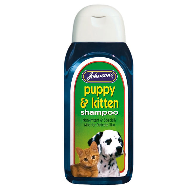 May Vary - Front - Johnsons Puppy & Kitten Liquid Shampoo (Pack of 6)