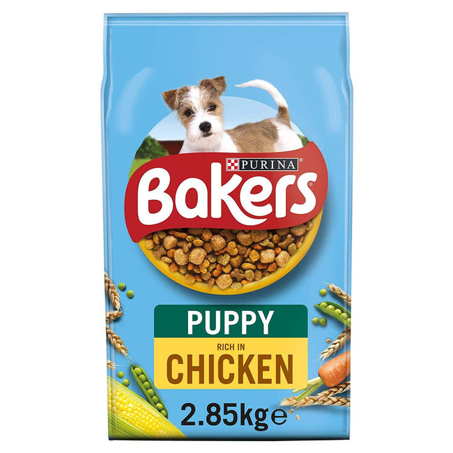May Vary - Front - Bakers Chicken And Veg Complete Dry Puppy Food