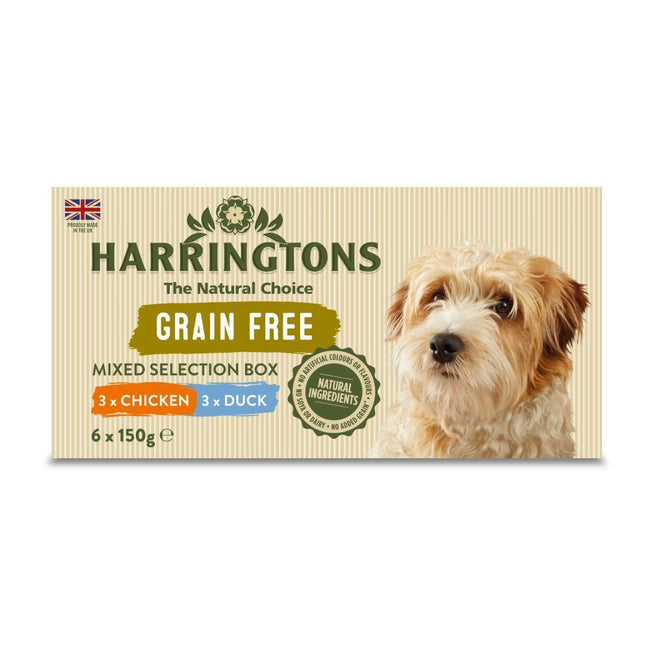 May Vary - Front - Harringtons Mixed Pack Complete Wet Dog Food (4 x 6 Trays)