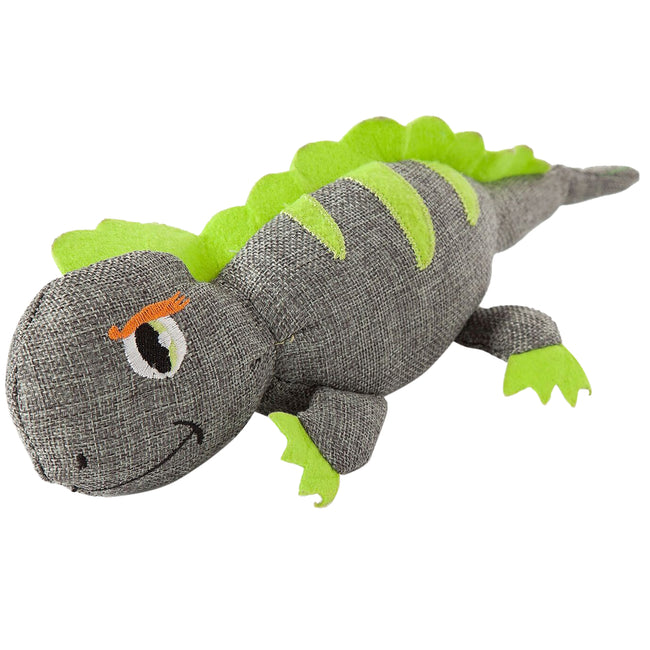 May Vary - Front - Danish Design Lizzy The Lizard Dog Toy