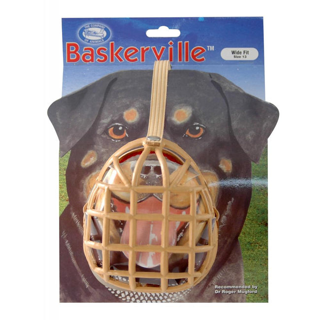 May Vary - Back - Baskerville Box Design Dog Muzzle