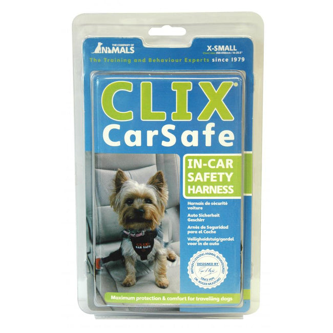 May Vary - Front - Clix CarSafe Dog Seatbelt Harness