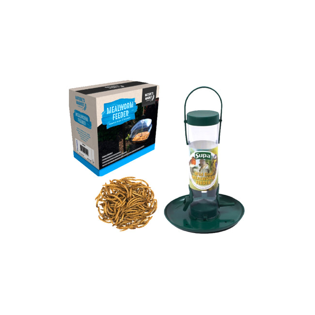 May Vary - Back - Supa Mealworm Feeder