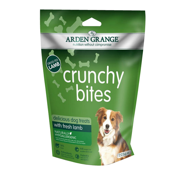 May Vary - Front - Arden Grange Lamb Crunchy Bites Treats with Glucosamine
