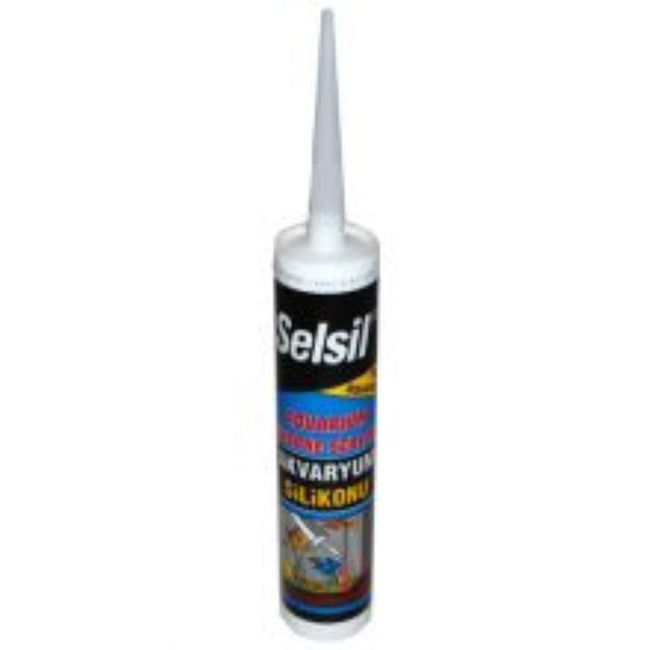 May Vary - Front - Selsil Liquid Silicone Aquarium Sealant