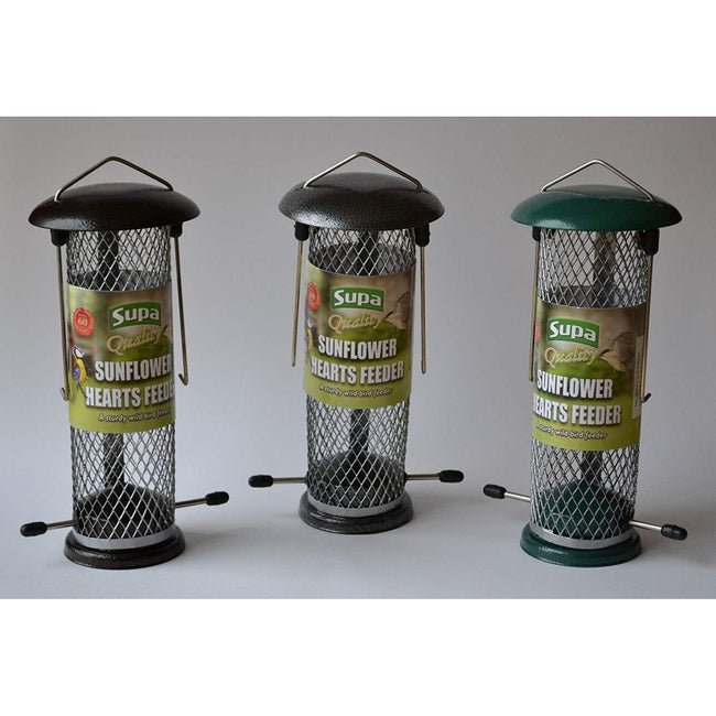 May Vary - Back - Supa Metal Sunflower Hearts Bird Feeder