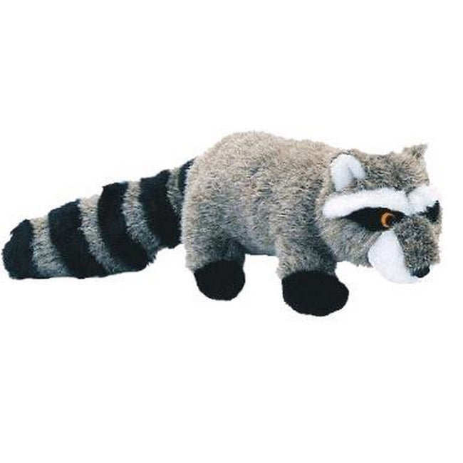 Grey-Black - Front - Danish Design Ricky The Raccoon Toy
