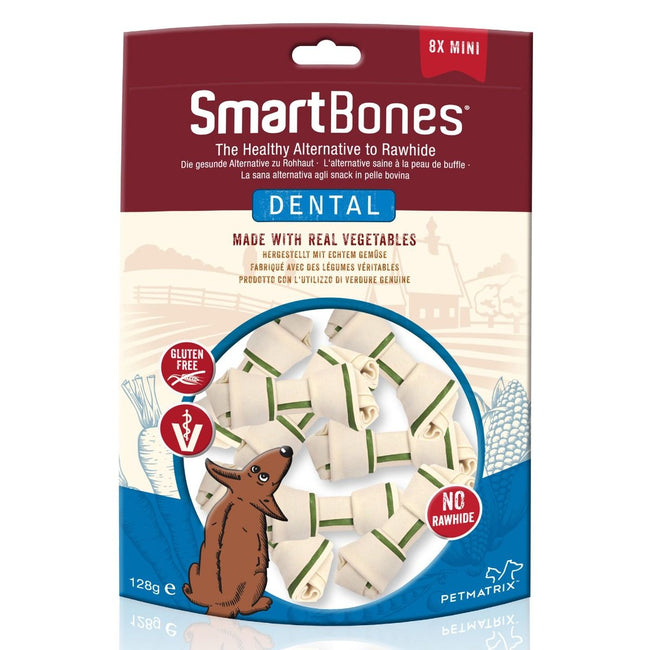 May Vary - Front - SmartBones Dental Dog Bone Chews