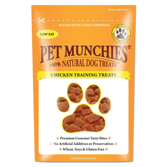 Chicken - Back - Pet Munchies 100% Natural Dog Training Treats