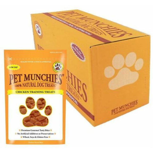 Chicken - Side - Pet Munchies 100% Natural Dog Training Treats