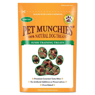 Sushi - Front - Pet Munchies 100% Natural Dog Training Treats