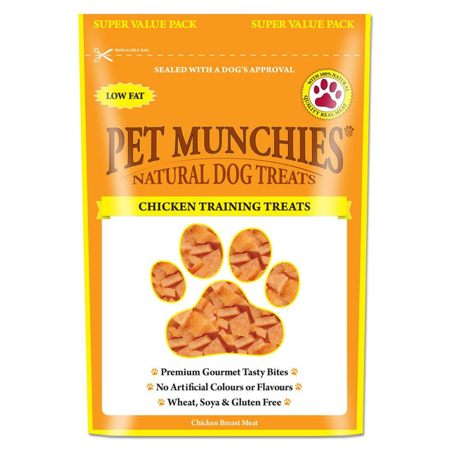May Vary - Front - Pet Munchies Natural Chicken Training Treats Super Value Pack