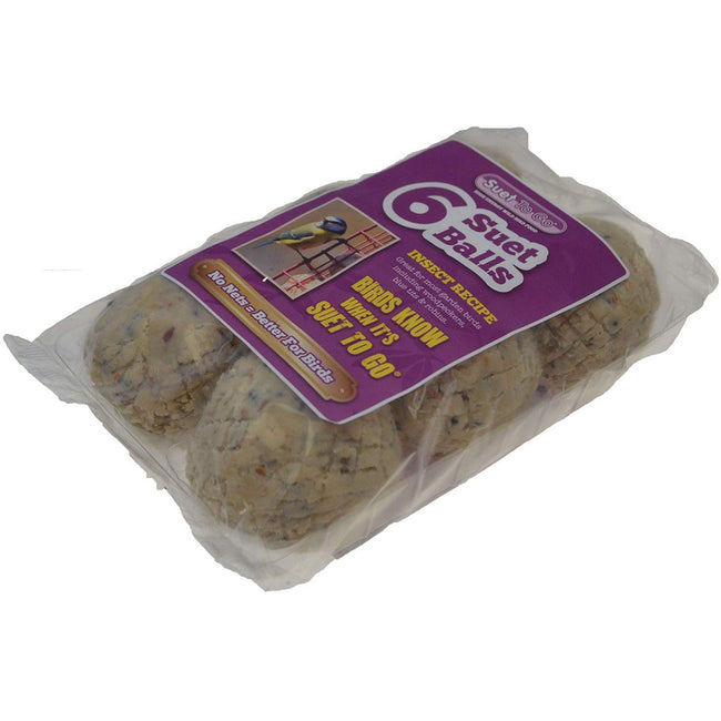 May Vary - Back - Suet To Go Insect Balls (6 Pack)