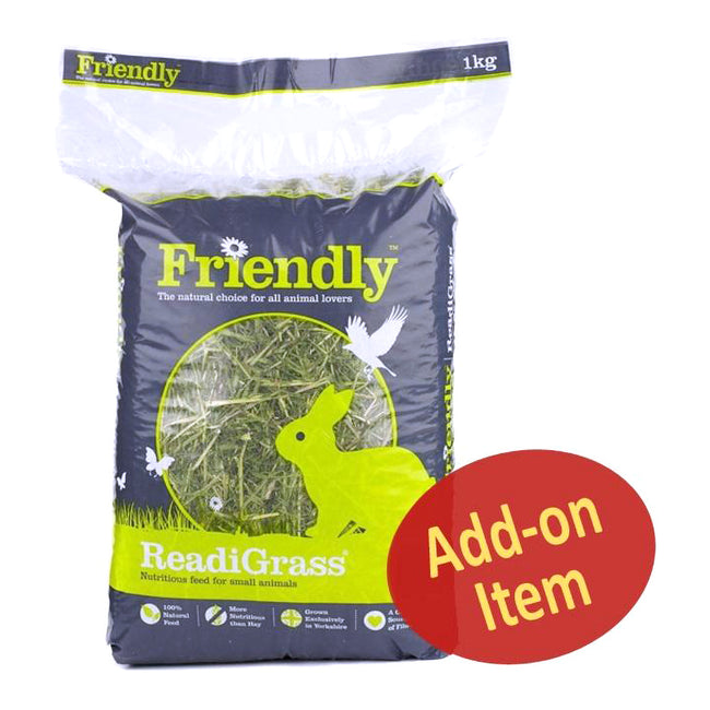 May Vary - Side - Friendly Readigrass - Hay Alternative