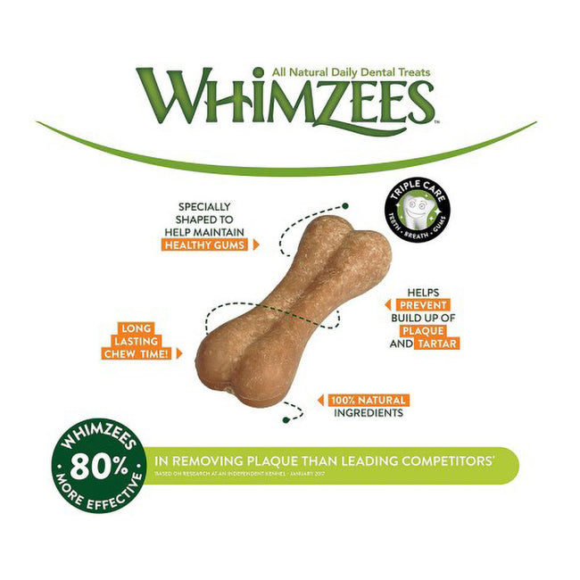 Multicoloured - Lifestyle - Whimzees Rice Bone Dog Chew Treats
