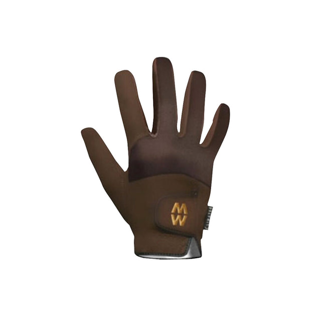 Brown - Front - MacWet Unisex Climatec Short Cuff Gloves