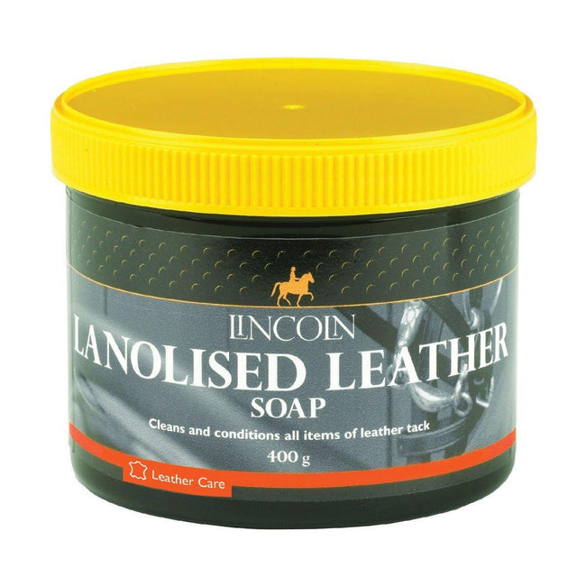 May Vary - Front - Lincoln Lanolised Leather Soap