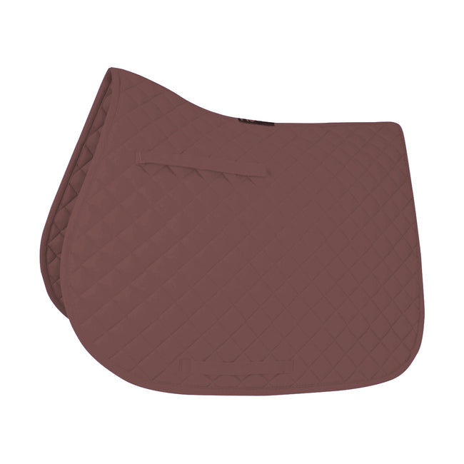 Brown - Front - HySPEED Showjump Saddle Cloth