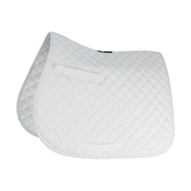 White - Front - HySPEED Showjump Saddle Cloth