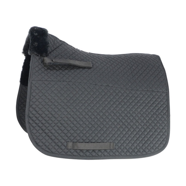 Black - Front - HySPEED Fab Fleece Lined Saddle Cloth