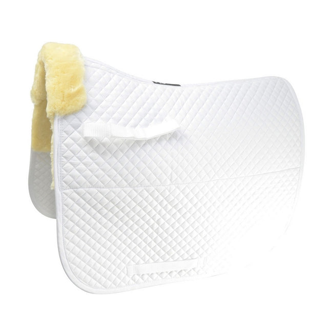 White - Front - HySPEED Fab Fleece Lined Saddle Cloth