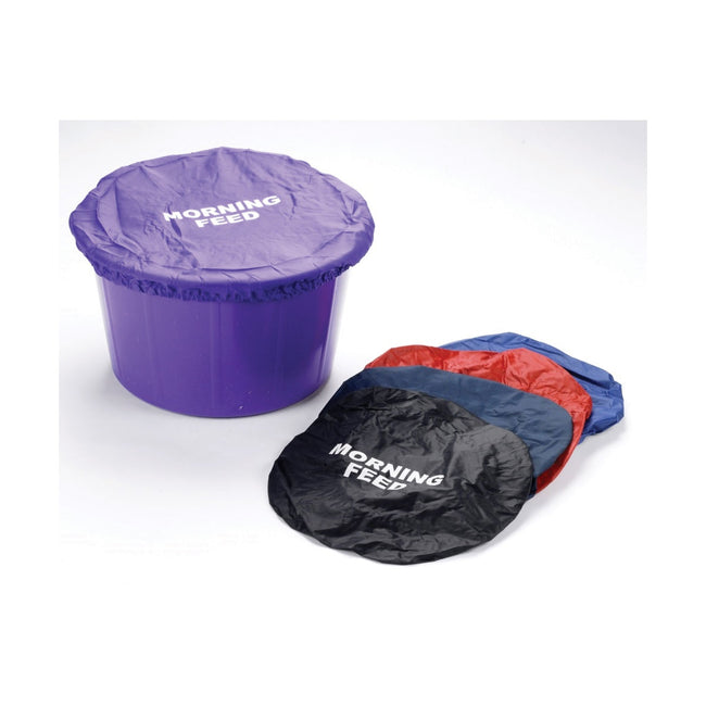 Red - Back - Lincoln Morning Feed Bucket Cover