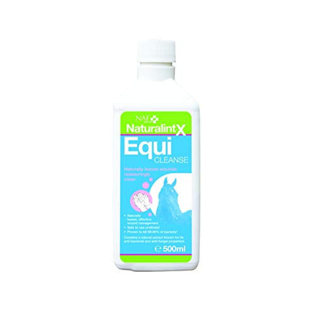 Clear - Front - NAF NaturalintX EquiCleanse Wound Liquid